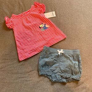Carters outfit 💕 9 months